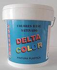 pintura plastica delta color satinado plastbella