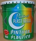 pintura plastica satinado super plastbella